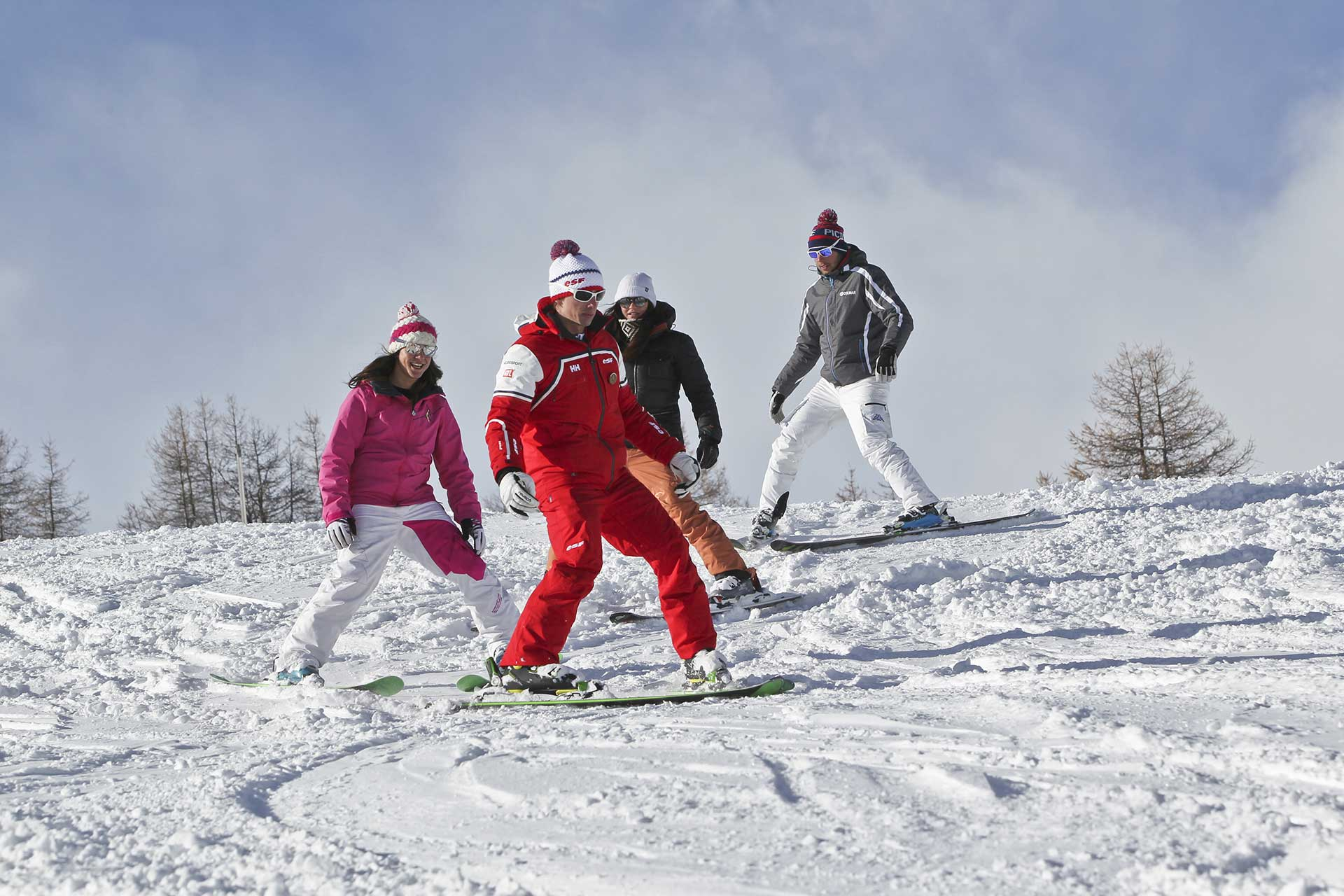 ski alpin cours privés