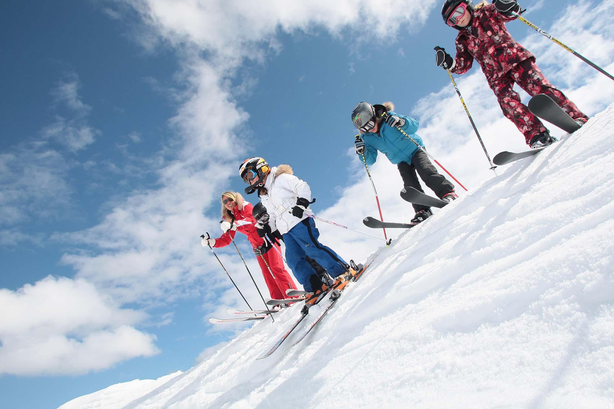 cours privés ski libre enfants
