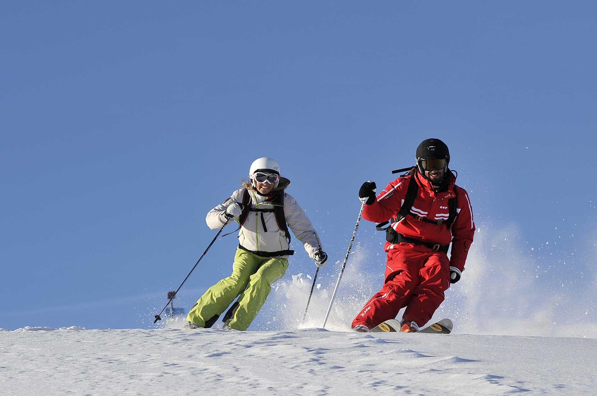 cours ski alpin expert