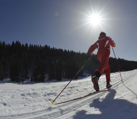 ski nordique avec l'esf