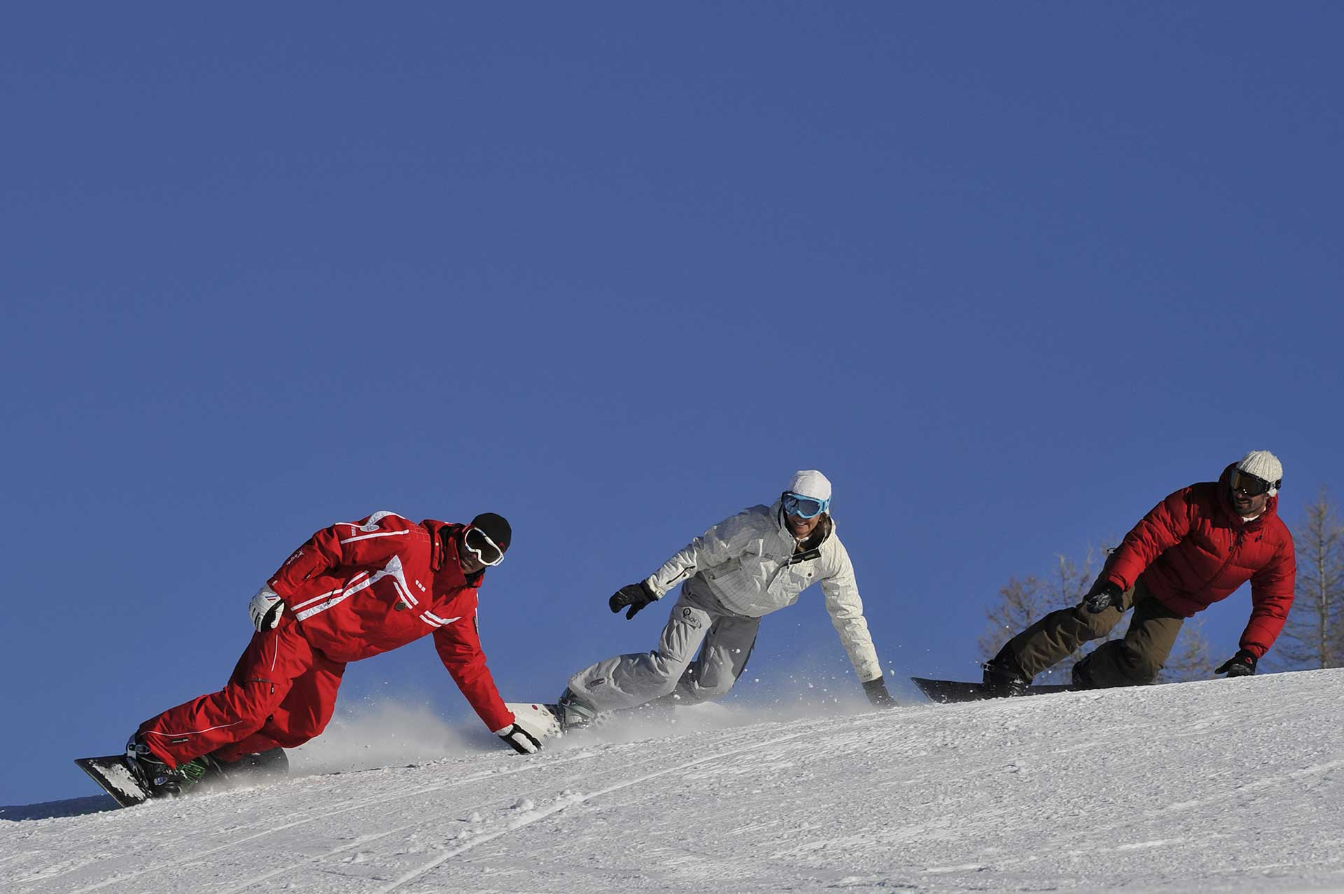 snowboard au Tanet
