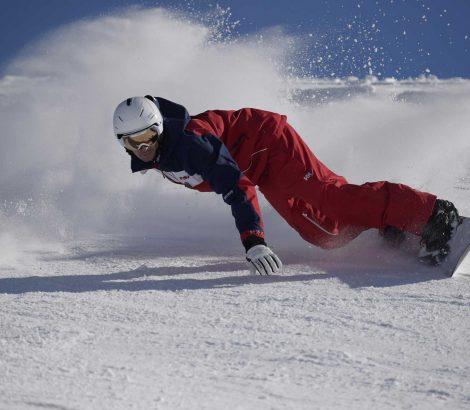 cours de snowboard avec l'esf de Munster
