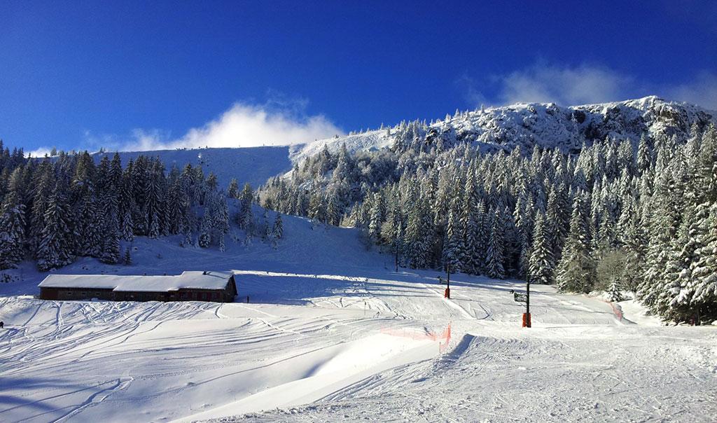 Le Tanet pistes de ski en Alsace